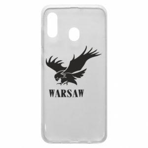 Etui na Samsung A20 Warsaw eagle