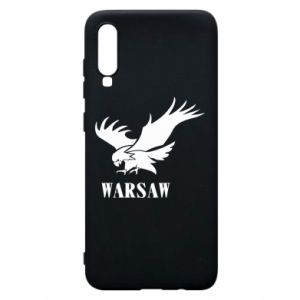 Etui na Samsung A70 Warsaw eagle