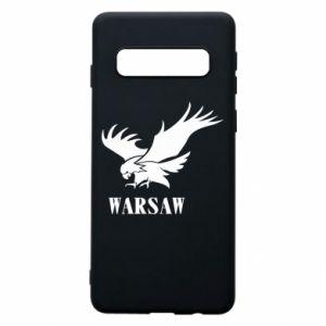 Etui na Samsung S10 Warsaw eagle