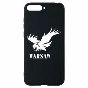 Etui na Huawei Y6 2018 Warsaw eagle
