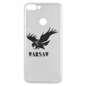 Etui na Huawei P Smart Warsaw eagle