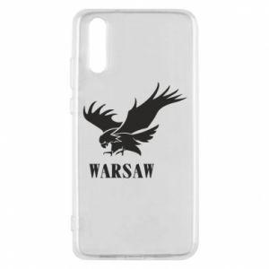 Etui na Huawei P20 Warsaw eagle