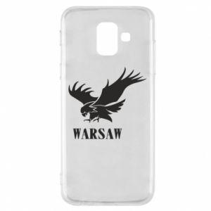 Etui na Samsung A6 2018 Warsaw eagle