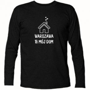 Long Sleeve T-shirt Warsaw is my home