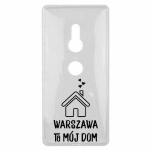 Etui na Sony Xperia XZ2 Warsaw is my home