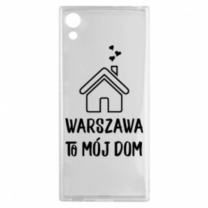 Etui na Sony Xperia XA1 Warsaw is my home