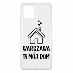 Etui na Samsung Note 10 Lite Warsaw is my home