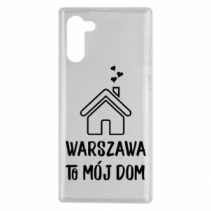Samsung Note 10 Case Warsaw is my home
