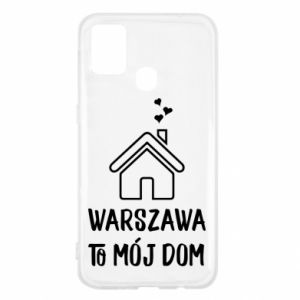 Etui na Samsung M31 Warsaw is my home