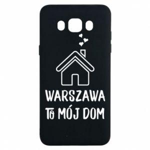 Etui na Samsung J7 2016 Warsaw is my home