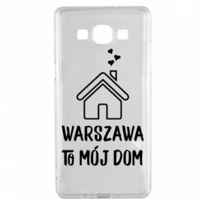 Samsung A5 2015 Case Warsaw is my home