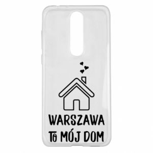Nokia 5.1 Plus Case Warsaw is my home