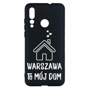 Etui na Huawei Nova 4 Warsaw is my home