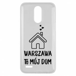 Lg K10 2017 Case Warsaw is my home