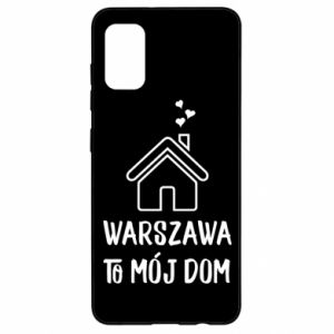 Samsung A41 Case Warsaw is my home