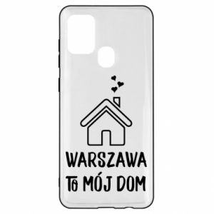 Samsung A21s Case Warsaw is my home