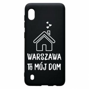 Samsung A10 Case Warsaw is my home