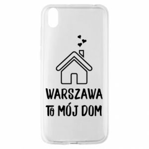 Huawei Y5 2019 Case Warsaw is my home