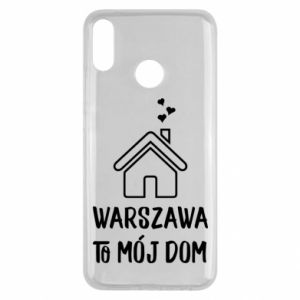 Huawei Y9 2019 Case Warsaw is my home