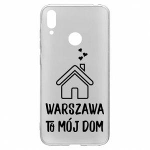 Etui na Huawei Y7 2019 Warsaw is my home