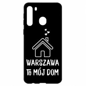Etui na Samsung A21 Warsaw is my home