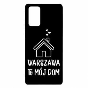 Etui na Samsung Note 20 Warsaw is my home