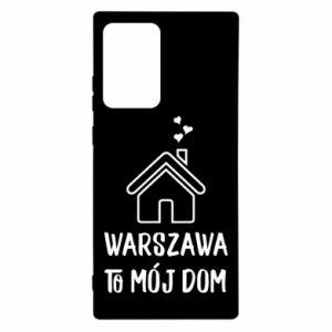 Etui na Samsung Note 20 Ultra Warsaw is my home