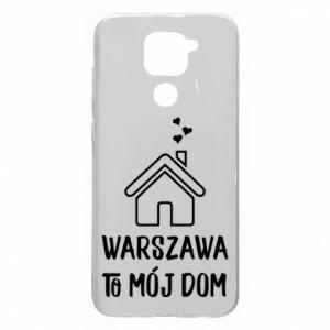 Etui na Xiaomi Redmi Note 9/Redmi 10X Warsaw is my home