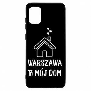 Etui na Samsung A31 Warsaw is my home