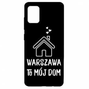 Etui na Samsung A51 Warsaw is my home