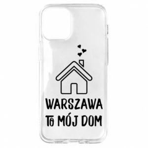 Etui na iPhone 12 Mini Warsaw is my home