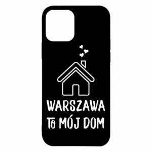 Etui na iPhone 12/12 Pro Warsaw is my home