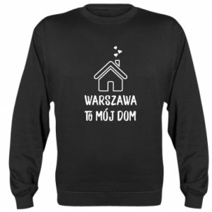 Bluza (raglan) Warsaw is my home - PrintSalon