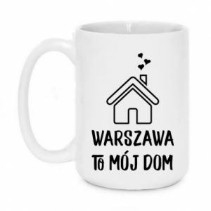 Kubek 450ml Warsaw is my home - PrintSalon