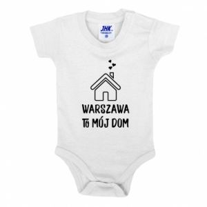 Baby bodysuit Warsaw is my home