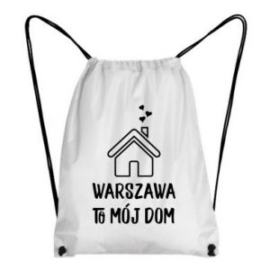 Backpack-bag Warsaw is my home
