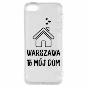 Etui na iPhone 5/5S/SE Warsaw is my home - PrintSalon