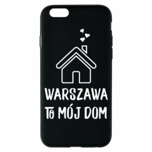 Etui na iPhone 6/6S Warsaw is my home - PrintSalon
