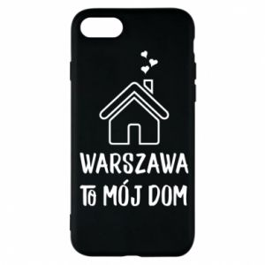 Etui na iPhone 7 Warsaw is my home - PrintSalon