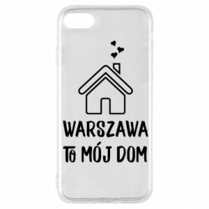 Etui na iPhone 8 Warsaw is my home - PrintSalon