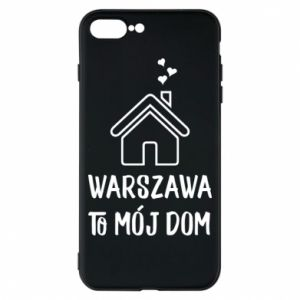 Etui na iPhone 8 Plus Warsaw is my home - PrintSalon