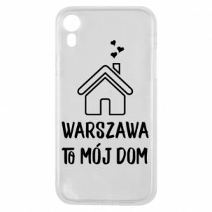 Etui na iPhone XR Warsaw is my home