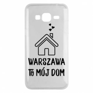 Etui na Samsung J3 2016 Warsaw is my home - PrintSalon