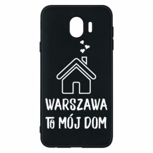 Etui na Samsung J4 Warsaw is my home - PrintSalon