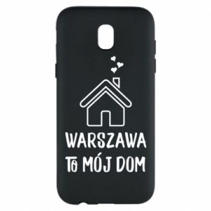 Etui na Samsung J5 2017 Warsaw is my home - PrintSalon