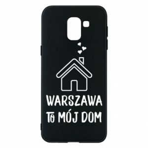 Etui na Samsung J6 Warsaw is my home - PrintSalon