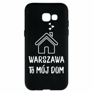 Etui na Samsung A5 2017 Warsaw is my home - PrintSalon