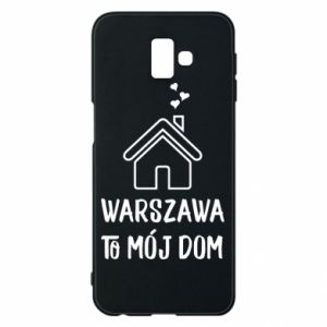 Etui na Samsung J6 Plus 2018 Warsaw is my home - PrintSalon