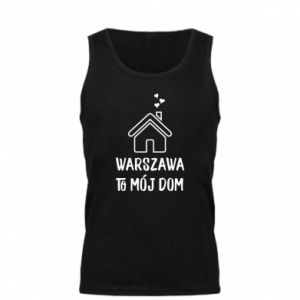 Men's t-shirt Warsaw is my home