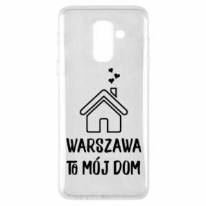 Etui na Samsung A6+ 2018 Warsaw is my home - PrintSalon